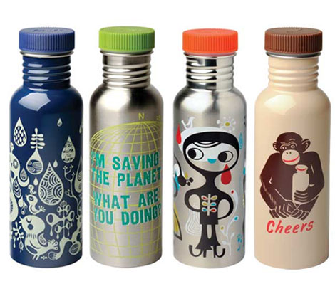 Cute Stainless Steal Water Bottles