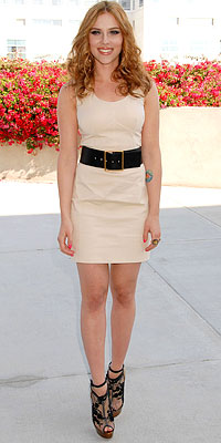 Scarlett Johannson Simple Dress