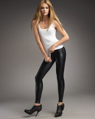 David Lerner Shiny Leggings