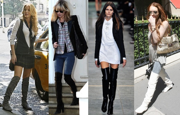 and Over-the-Knee Boots