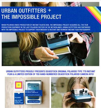 Urban Outfitters Polaroids