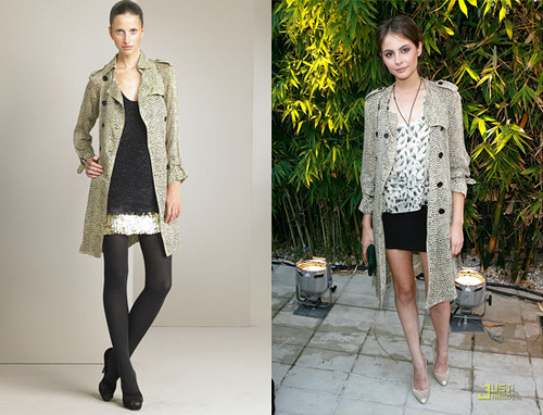 Willa Holland Trench