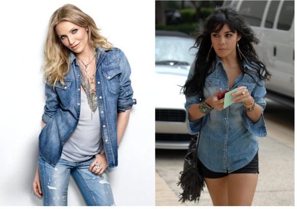 Denim Shirt Fashion